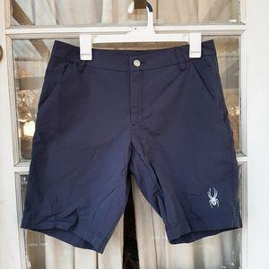 Spyder Mens Navy Shorts Sz M.in Excellent conditio